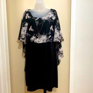 Glamour Cape Dress